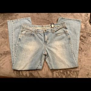 Faded Glory Blue Jeans Size 16